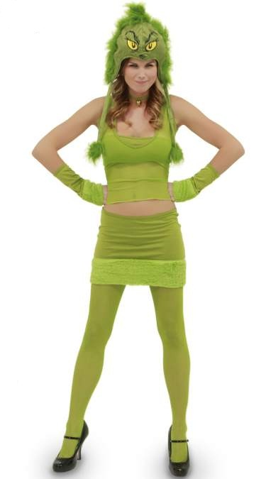 Grinch Costumes (for Men, Women, Kids) | Parties Costume