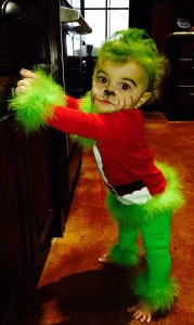 Grinch Costume for Kids