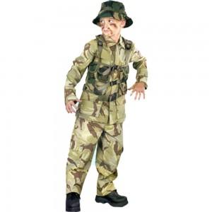 Halloween Soldier Costume