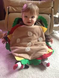Hamburger Costume for Baby