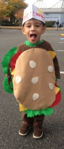 Hamburger Costume for Kids