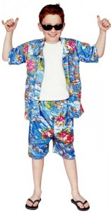 Hawaiian Costume for Boys