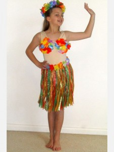 Hawaiian Costumes for Girls