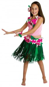 Hawaiian Girl Costume