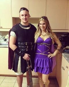Hercules and Meg Costumes
