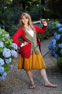 Hobbit Costume Girl