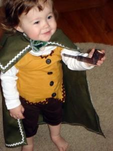 Hobbit Costume for Baby