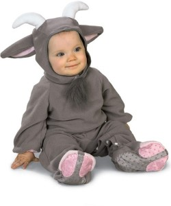 Infant Goat Costume