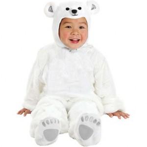 Infant Polar Bear Costume