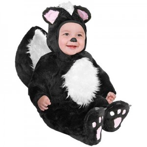 Infant Skunk Costume