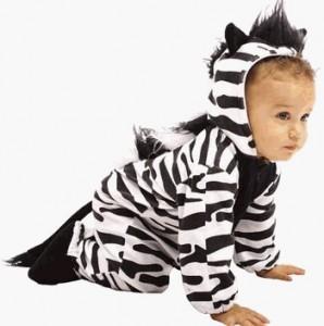 Infant Zebra Costume