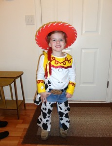 Jessie Toddler Costume