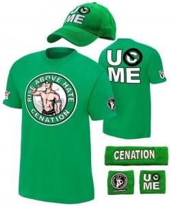 John Cena Costume Green