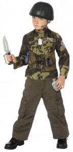 Kid Soldier Costume