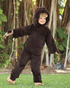 Kids Bigfoot Costume