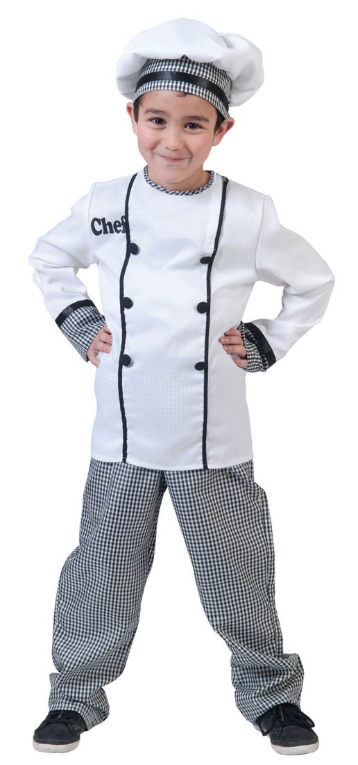 Chef Costumes Men Women Kids Parties Costume
