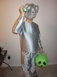 Kids Cyberman Costume