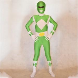 Kids Green Power Ranger Costume
