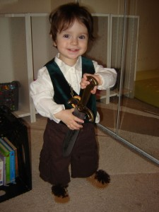 Kids Hobbit Costume
