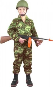 Kids Military Costume