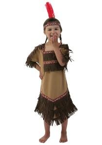 Kids Native American Costume