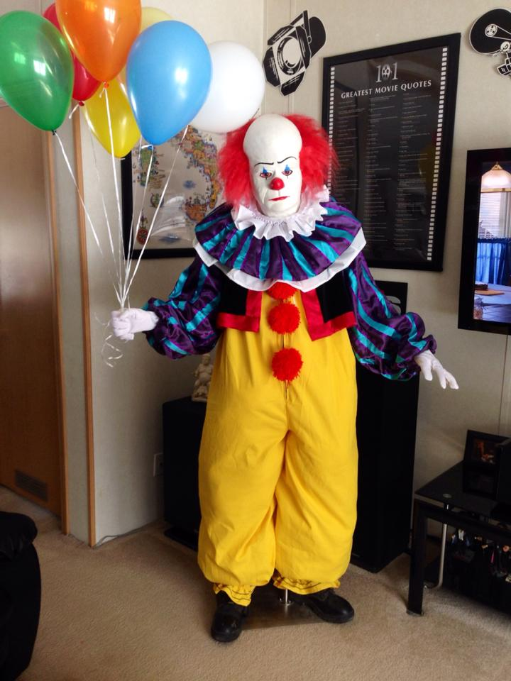 Pennywise Costumes (for Men, Women, Kids)