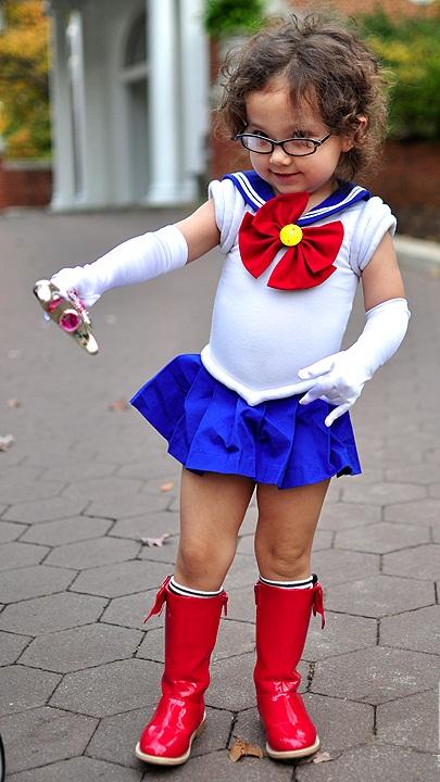 moon Homemade costume sailor