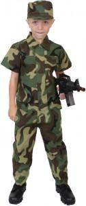 Kids Soldier Costume