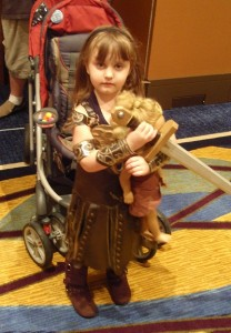 Kids Xena Costume