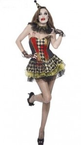 Killer Clown Costume Women