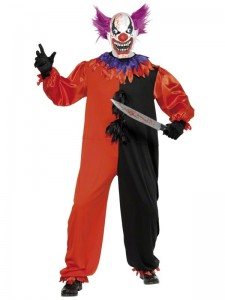 Killer Clown Costume for Adults