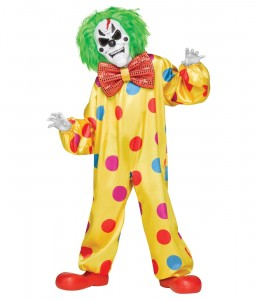 Killer Clown Costumes for Boys