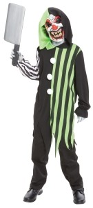 Killer Clown Costumes for Kids