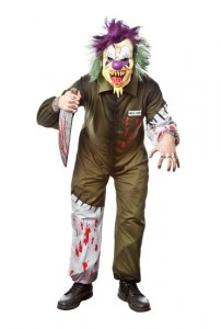 Killer Clown Costumes for Men