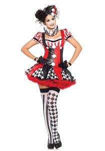 Killer Clown Girl Costume