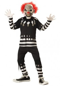 Killer Clown Halloween Costumes