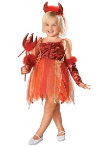 Little Girl Devil Costume