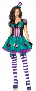 Mad Hatter Costume Girl