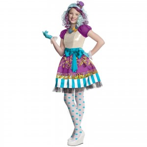 Mad Hatter Costume Girls