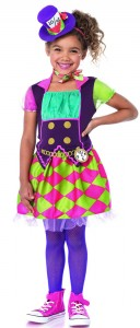 Mad Hatter Costumes for Girls