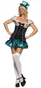 Mad Hatter Woman Costume