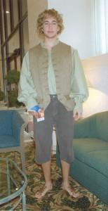 Male Hobbit Costume