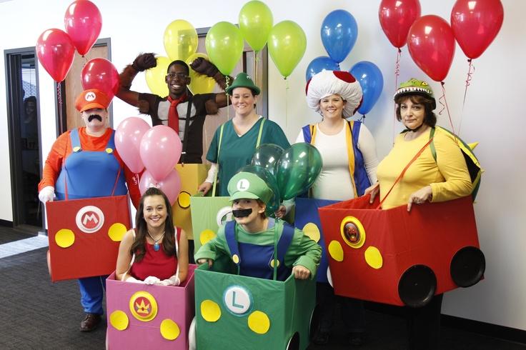 Mario kart costumes adults
