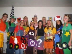 Mario Kart Costumes Girls