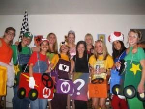 Mario Kart Costumes Girls