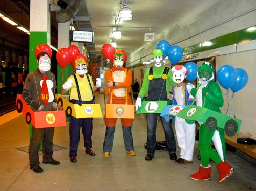 Mario kart costumes parties costume