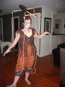 Marionette Halloween Costume