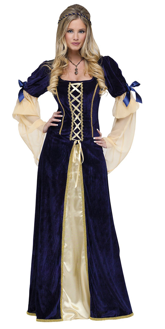Medieval Costumes (for Men Women Kids)  Parties Costume