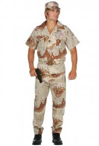 Mens Military Costume