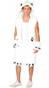 Mens Polar Bear Costume